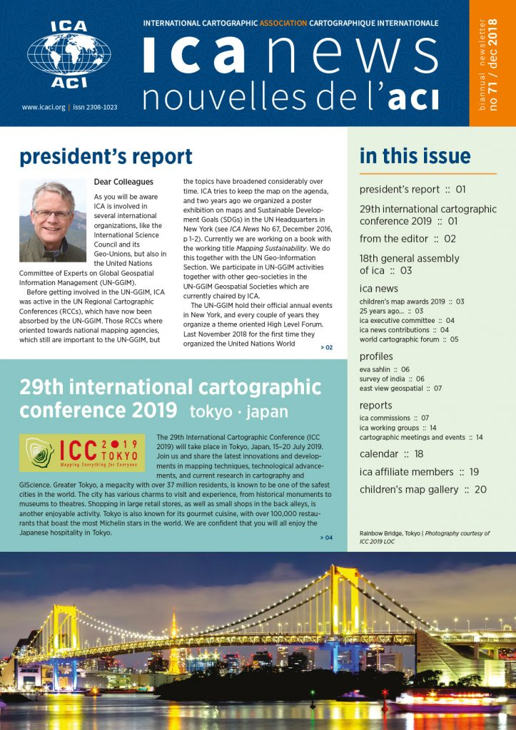 ICA News, Number 71, December 2018