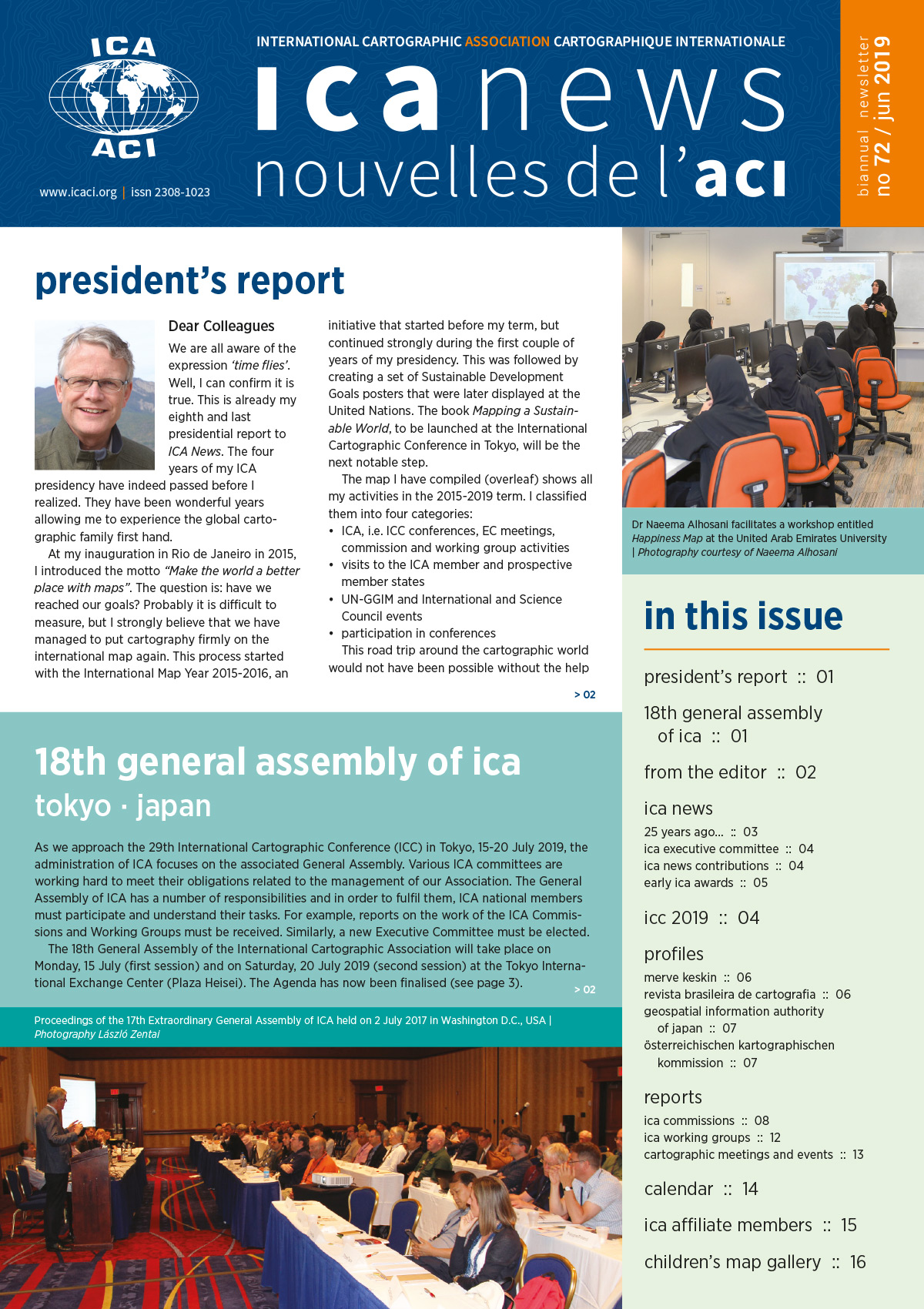 ICA News, Number 72, June 2019