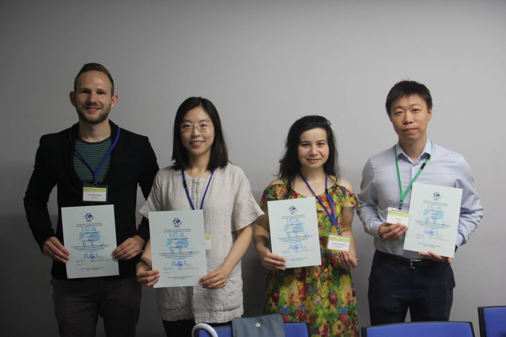 Congratulations to the ICA scholarship awardees at ICC2019 and pre-conference workshops International Cartographic Association