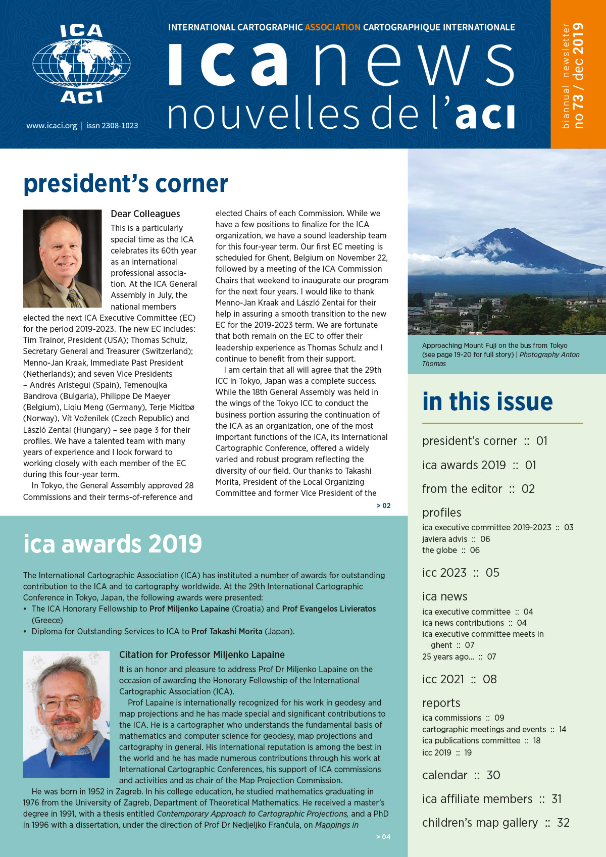 ICA News, Number 73, June 2019