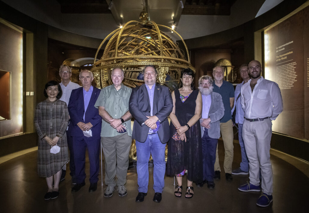 ICA Executive Committee on September 3 at the Galileo Museum